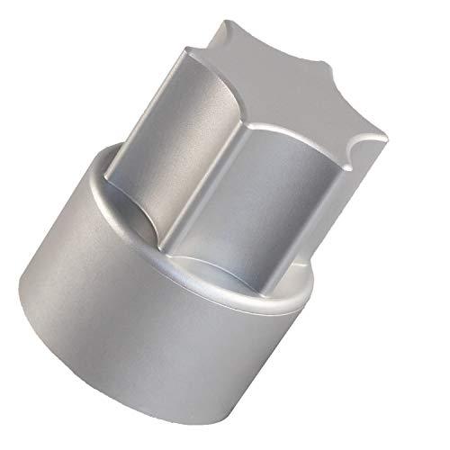 TeigTwister® | Teiglöser aus Aluminium | Messerdrehhilfe passend für Thermomix TM5/TM6