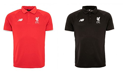 liverpool-fc-new-balance-mens-polo-lfc-pique-short-sleeve-shirt-red-black-s-xxl-new-wstm720-s-black