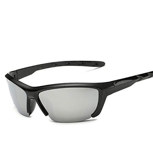 Easy Go Shopping Mann Sport Ski Brille Objektiv Radfahren Outdoor Sport Brille Sonnenbrille Herren und Damen Outdoor Radsport Sonnenbrille Wind Dark Brille Sonnenbrillen und Flacher Spiegel