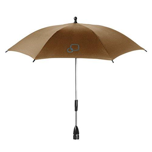 Quinny 72409160 - Sombrilla para silla de paseo y cochecito, color marrón