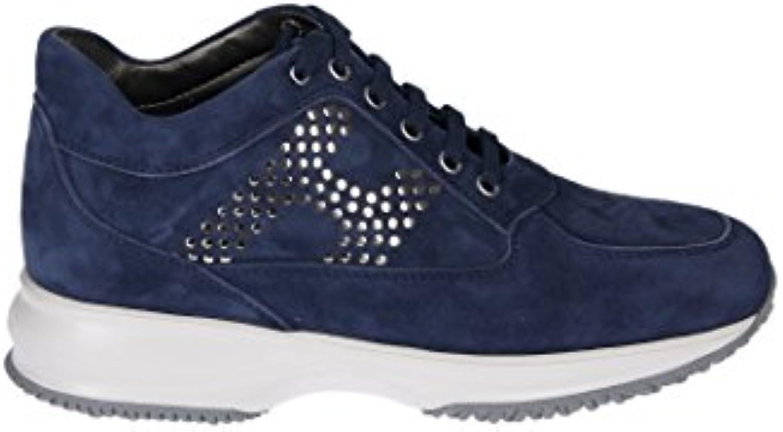 Hogan Mujer HXW00N0J940CR0U803 Azul Gamuza Zapatillas  Venta de calzado deportivo de moda en línea