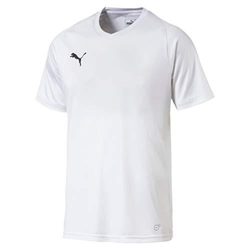 PUMA Herren Liga Core Jersey, White Black, XL