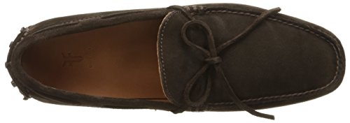 FRYE Mens Allen Tie Slip-On Loafer Chocolate