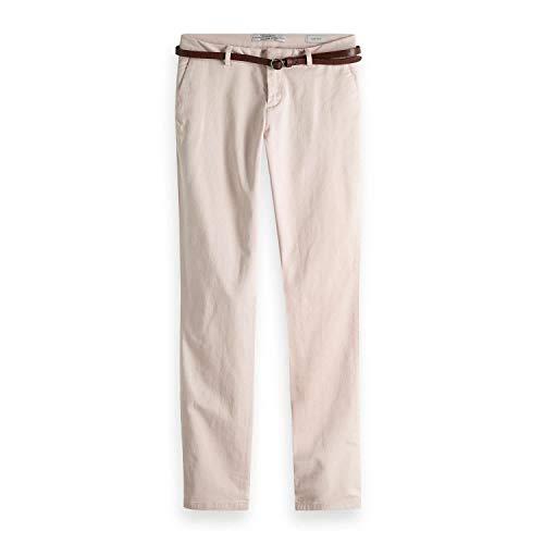 Maison Scotch Damen Hose Slim Fit Chino Pants 149941 Blush 25/32 China Blush
