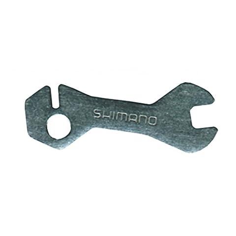 Spoke nipple wrench - with spoke grip