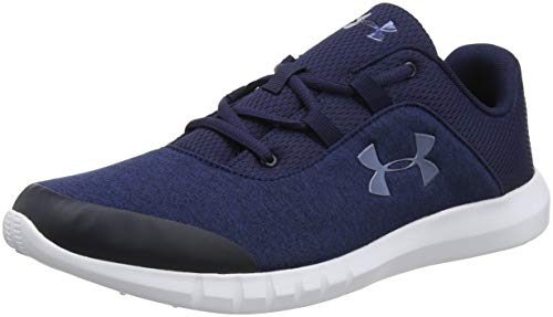 Under Armour UA Mojo, Scarpe da corsa Uomo, Blu (Midnight Navy/White/Utility Blue 403), 42.5 EU
