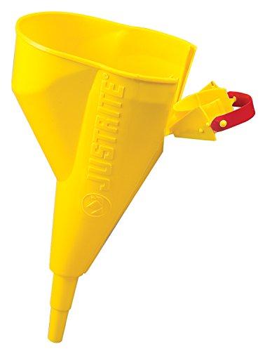 Sicherheit-dosen (Justrite 11202Y Polyethylen Trichter für Typ I Stahl Sicherheit Dosen, 1/5,1cm Durchmesser x 11–1/10,2cm L)
