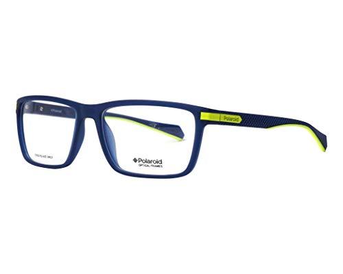 Polaroid Brille (PLD-D354 FLL) Plastik matt blau - neon gelbfarben