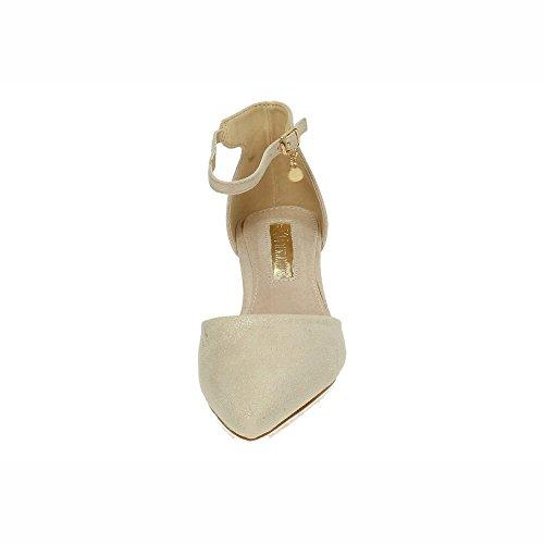 XTI Scarpe Col Tacco Donna Oro