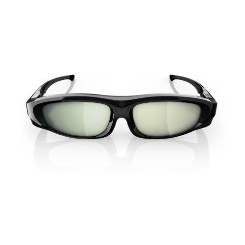 Philips PTA518/00 3D Max Aktiv-Brille (Umschaltmöglichkeit 2-Spieler Fullscreen Gaming)