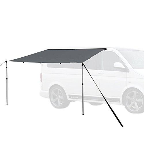 Qeedo Motor Tarp, Campingbus Sonnensegel, Camper, Wohnwagen, Sonnenschutz Campingmobil, Einfache...