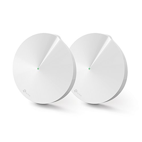 TP-Link Deco M5 Whole Home Wi-Fi, Up to 3000 sq ft Coverage (Works with Amazon Echo/Alexa and IFTTT, Router and Wi-Fi Booster Replacement, Antivirus and Parental Controls) - Pack of 2