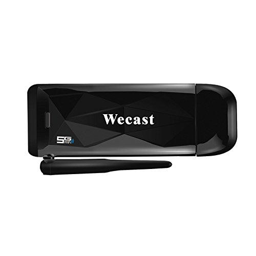 NeitKaarsh India Wecast 5G WiFi Miracast Airplay DLNA Display TV Dongle Single Item.