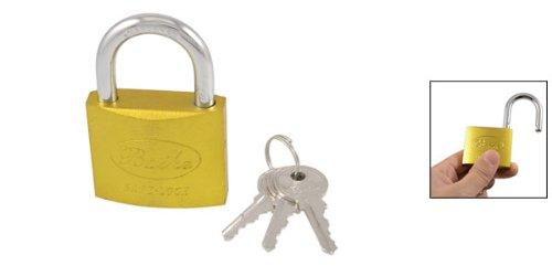 Vorhängeschloss 50 mm mit 3 Schlüssel Sicherheit und dem Schutz für den Außen