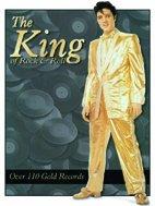 Elvis Presley The King 110 Records magnete metallo piatto Nuovo 6x8cm (Elvis Presley Tin)