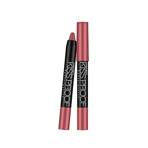 BHYDRY Wasserdichte langlebige Flüssigkeit Polarize Light Lipstick Makeup Lip Gloss Lip