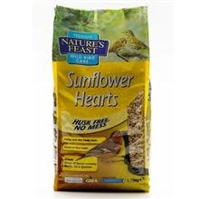 Natures Feast Sunflower Hearts 1.75 Kg