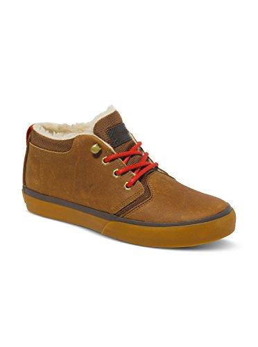 Quiksilver - Griffin Fg, Sneakers per bambini e ragazzi, Marrone (Braun (XCCC  BROWN/BROWN/BROWN)), 32