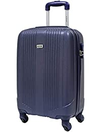Maleta cabina 55cm - Trole ALISTAIR AIRO - ABS extremista Ligero - 4 ruedas - Azul