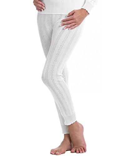 Slenderella Brettles Legging Thermique - Blanc BUW059