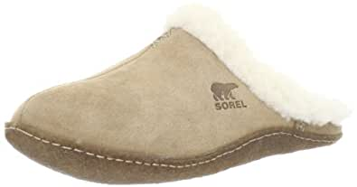 Sorel Nakiska Slide, Women's Slippers, Beige (212 Incense), 3 UK / 36 EU