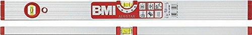 Wasserwaage ALUSTAR 691M L.120cm Alu. silberf.elox. m.Magnet max.0,5mm/m BMI