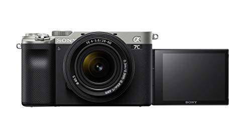 Oferta de Sony Alpha 7 C - Cámara Evil de fotograma Completo con Objetivo Zoom Sony FE 28-60 mm F4-5.6 (compacta, Ligera, Enfoque automático a Tiempo Real, 24.2 MP, Sistema de estabilización de 5 Ejes) - Plata