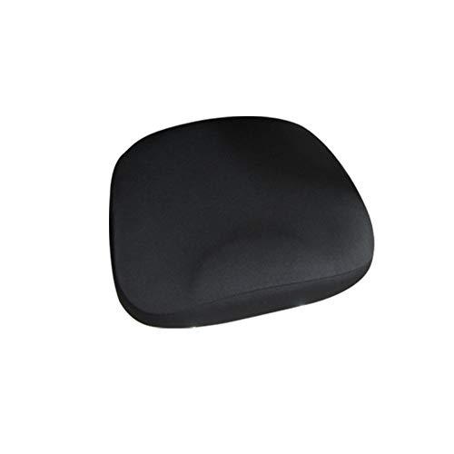 Basisago - coprisedia elasticizzato, moderno, universale, estensibile, molto facile da pulire e durevole, per studio a casa, ufficio, caffè internet nero