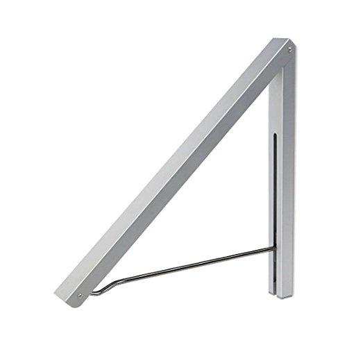 Anjuer Perchero Pared Aluminio Percha Plegable Ahorrar