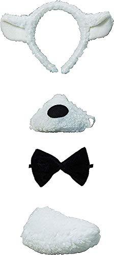 Junggesellinnenabschied Lust Auf Weihnachten Party Stirnband Inc Ohren Nase Fliege Schwanz Satz Mit Ton - Lamm Satz, One (Lamm Ohren Kostüm)