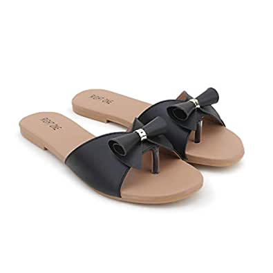 Right One Woman Trending Stylish Fancy and Comfort Flat Fashion Sandal