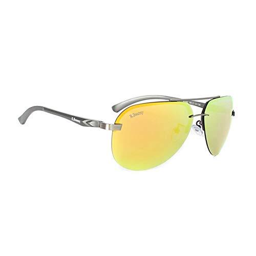 YLZERO Polarisierte Linse Sonnenbrille Männer Spiegel SonnenbrilleMännlich Aluminium Magnesium Frauen Sonnenbrille