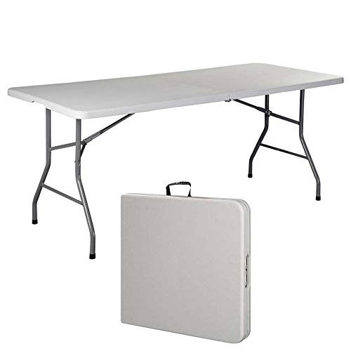 WOQUXIA Klapptisch Tragbare Kunststoff Picknick Im Freien Camping Tisch Party Esstische Modernen Schreibtisch Wohnmöbel -