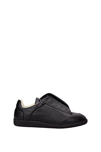 sneakers-martin-margiela-homme-cuir-noir-s37ws0263sx8966-noir-41eu