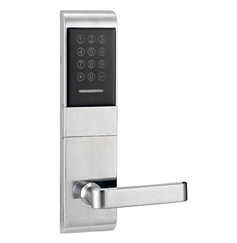 Touchscreen Elektronischer Türschloss-Code, 2 ID-Karten, 2 Tasten Digitale Passwort-Sperre Keyless , Left Push
