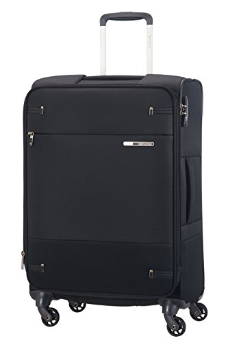Samsonite Base Boost Spinner - Valigia, Nero, 66cm-73,5L