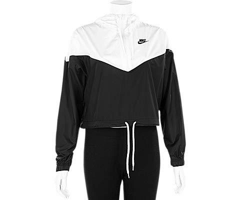 Nike Damen W NSW HRTG JKT WNDBRKR Jacket Black/White S