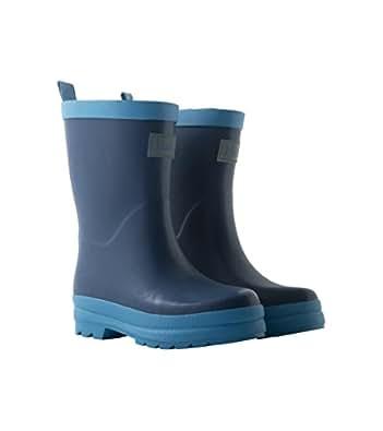 Hatley Jungen Classic Rain Boots Arbeits-Gummistiefel, Blau (Marineblau), 25 EU