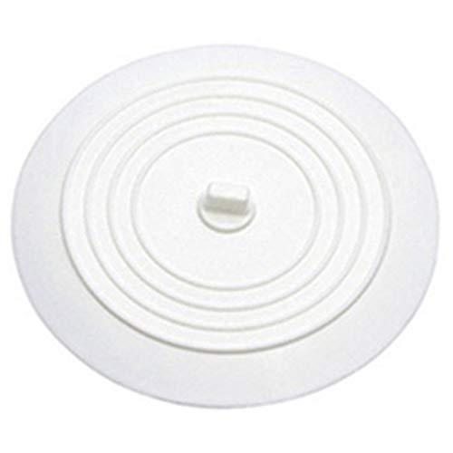 KinshopS Auslaufsicherer Wasserstopper Waschbecken Haarfänger Runder Silikonflacher Deckel Küchenablassschraube Universal