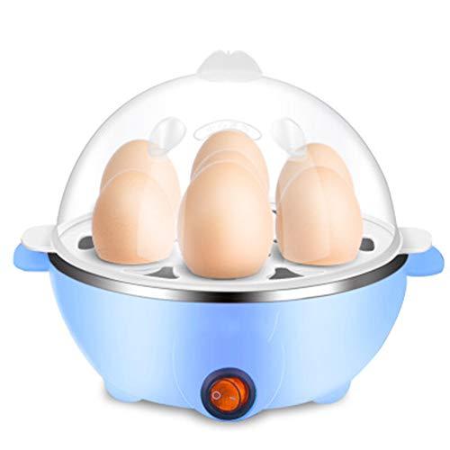 HKKJC Eierkocher Wilder Elektrokocher Mit Dampfbefestigung FüR Perfekte Weiche Und Hartgekochte Eier,Black