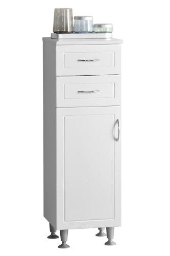 Premier Housewares – Armario para baño (102 cm), color blanco