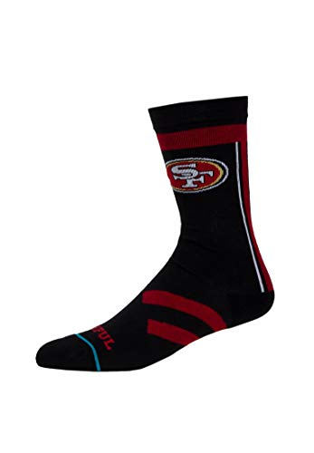 NFL 49ers Faithful Socke - Black Länge: M Farbe: Black