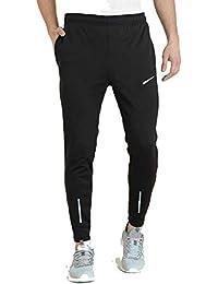Finz Men's Lycra Stretchable Regular Fit Joggers Track Pant Lower Payjama