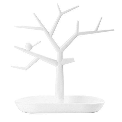 Sharplace 1pz alberi forma porta supporto organizzatore cremagliera torri portagioie per collane orecchini anelli gioielli espositore