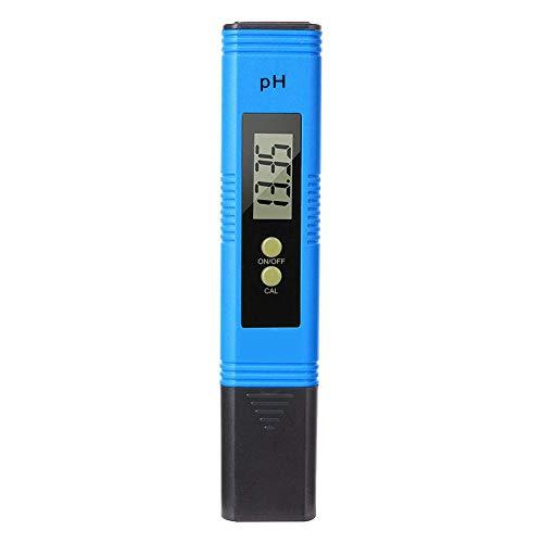 Liberty Digitaler pH Messgerät, Wasserqualität Pen Tester mit LCD Anzeige und ATC Funktion für Urin, Haushalt Trinkwasser, Hydroponic, Aquarium, Labor, Schwimmbäder, Thermen (Ph-bier)