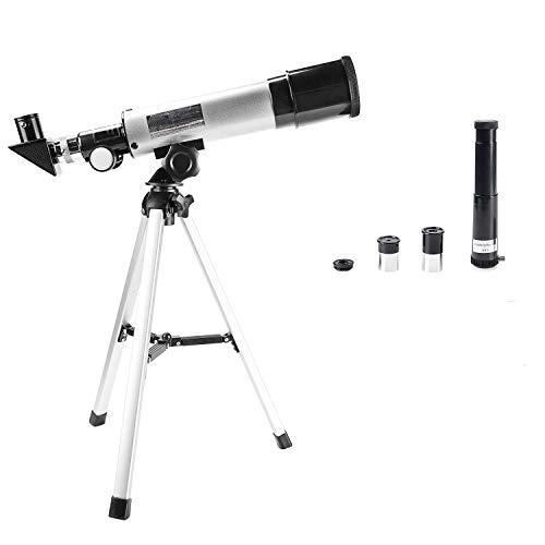 Astronomisches Teleskop für Kinder, Astronomie-Teleskop 90 x HD, tragbar, für Außenbereich,...