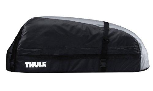 Thule 601100 Coffre de Toit Voiture Pliable Ranger 90, 280 L, Noir