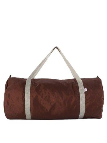 american-apparel-nylon-pack-tuch-sporttasche-brown-silver