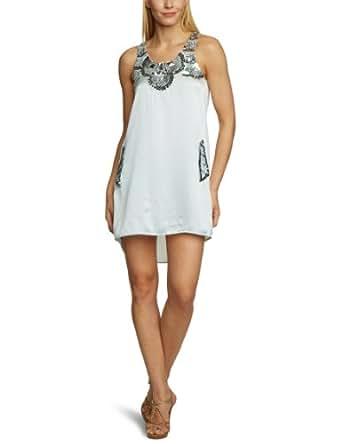 Shivadiva Damen Kleid (mini) Regular Fit D-T-54, Gr. 36 (S), Blau (blush)