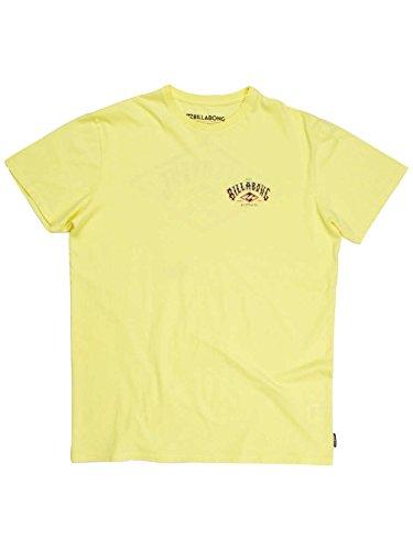 Herren T-Shirt Billabong Arched T-Shirt dust yellow